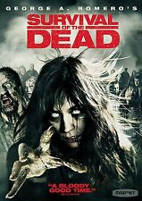 NEW SEALED Survival of the Dead DVD George A. Romero 2010 Magnet R1 ZOMBIES