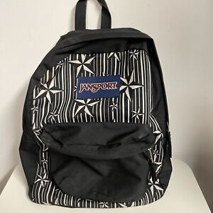 Vintage 90s y2k nautical star backpack book bag punk goth emo hottopic tattoo