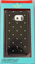 Kate Spade Hybrid Hardshell Case Dots Black White for Samsung Galaxy S6