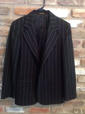 METRO BOYZ Collection Boys 2 Pc Suit Black Striped 16/18