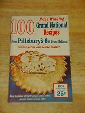 1955 Pillsbury's Best XXXX Flour ~ 100 Grand National Recipes Contest Winners