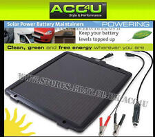 Ring RSP600 12v Car Van Bike Boat Leisure Solar Power Battery Maintainer Charger