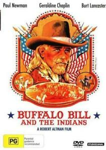 BUFFALO BILL AND THE INDIANS - NEW & SEALED DVD (PAUL NEWMAN, BURT LANCASTER)