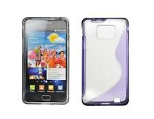 Coque Silicone Gel Violet ~ Samsung GT i9100 Galaxy S2 / i9105 Galaxy S2 Plus