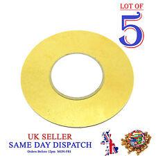 5x hágalo usted mismo 50mm Sensor de disco de cobre Piezo elementos de Tambor Sounder gatillo Zumbador
