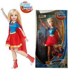45cm DC Super Hero Girls Supergirl Action Pose Doll Figures Kid Girl Playset Toy