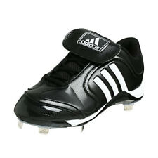 new arrival 58dc7 a4eda adidas Excelsior 6 Low W Womens Baseball Cleat 173395 Blkwhtsil Size 6
