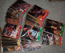 Lot of 234 NBA Hoops Action Photos (1991) Michael Jordan, Larry Bird, Mark Price