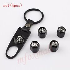 Key Chain Air Dust Tyre Tire Valve Car Wheel Cap Cover For Transformers Autobot