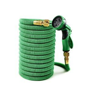 ANSIO Garden Hose Pipe 100 Ft/30M Expandable Garden Water Hose, 9 Function Spray