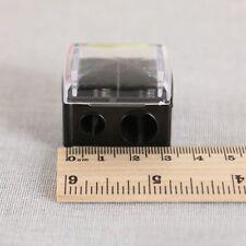 Makeup Cosmetic Pencil 2 Holes Sharpener For Eyebrow Lip Liner Eyeliner Pen