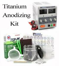 Titanium Anodizing Kit for Jewelry, Dental, & Medical Supplies