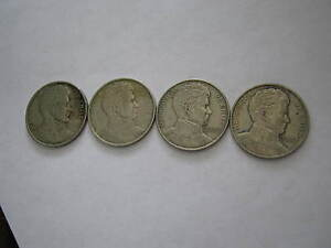 2 Each, CHILE 1 Peso 1975 Bernardo O Higgins KM 207 & 1976 Libertador KM 208