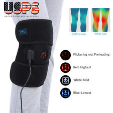 Knee Heating Pad Thermal Therapy Wrap Support Brace Pain Relief Christmas Gift