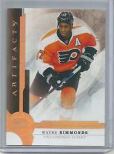 2016-17 Upper Deck Artifacts Gold #76 Wayne Simmonds /25  Philadelphia Flyers