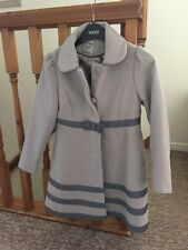 Stunning Girls Coat From Next Age 7-8 Perfect Condition