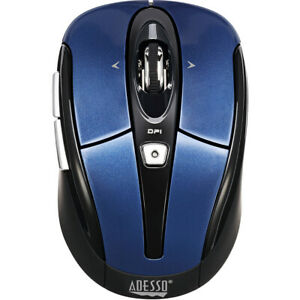 Adesso iMouse S60L 2.4 GHz Wireless Programmable Nano Mouse