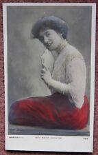 Miss Madge Crichton Cameo Rapid Bas Relief Photo Card 1900s Photocard Postcard