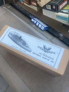 Arcadia Craft CSS Arkansas Wooden Ironclad Ship Model Kit
