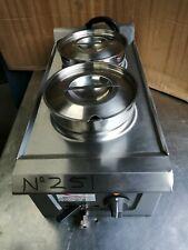 More details for no251 falcon  ld34  2 pot bain marie wet heat 300mm x 630mm x 285mm high