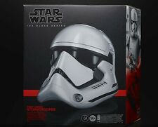 First Order Stormtrooper Helmet Star Wars Black Series Electronic Helmet