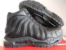 NIKE AIR MAX FOAMDOME FOAMPOSITE BOOTS BLACK-BLACK SZ 13 [843749-002]