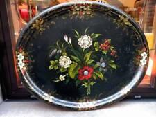 Antico grande VASSOIO metallo antique big tray metal Russia (?)