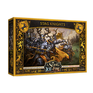 A Song of Ice and Fire: Baratheon Stag Knights - english version