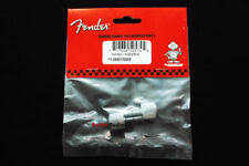 Genuine Fender Chrome Piggyback Amplifier Amp Thumb Screws Knobs - Package of 2