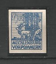 Deutsche postfrische Briefmarken der sowjetischen Besatzungszone