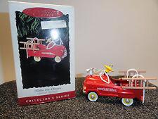 Hallmark Kiddie Car Classic Murray Fire Truck Keepsake Ornament 1995