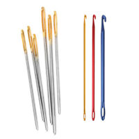 Large Thick Needle Eye Sewing Crochet Hooks for Knitters Yarn Wool Tapestry