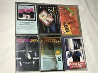 LOT CASSETTE TAPES, ULTIMATE ROCK,GOOD OLD ROCK N ROLL, CHET FLOYD BOOTS, ETC