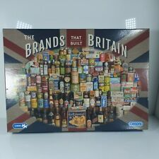 Gibsons The Brands that Built Britain 1000 piece jigsaw puzzle free delivery