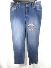 8323d544ed1 Gloria Vanderbilt Amanda Womens Embellished Slimming Jeans Size 6p - Rp9