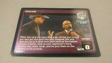 WWE Raw Deal Unforgiven THEODORE LONG HATERADE FOIL ULTRA RARE!