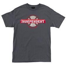 Independent Trucks Paint All Curbs Skateboard Shirt Heavy Metal Medium