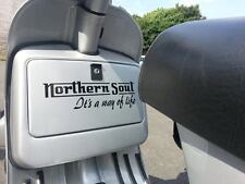 Northern Soul Sticker Fits Vespa PX T5 LML Scooter Toolbox / Sidepanel SK2