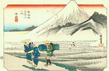 3 Japanese Woodblock snow scenes by Ando Utagawa Hiroshige Pictures Paintings