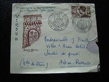 FRANCE - enveloppe 22/6/1952 (2eme choix) (cy29) french