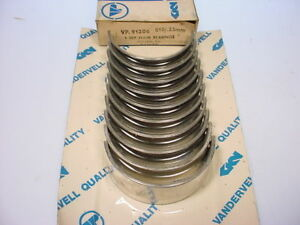 Main Bearing Set Fits Rover 2000 SC  TC NOS Vandervell  .010