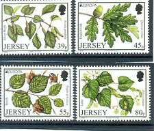 Jersey Forest Trees set of 4 mnh