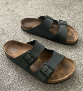 Birkenstock Anthracite Arizona Sandals Size 8