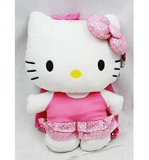 "NWT Sanrio Hello Kitty Plush Doll Backpack 15"" Ballerina with Tutu Bling Bling"