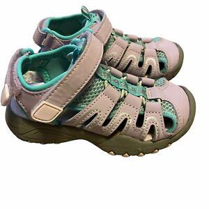 Cat & Jack Purple Afton Hiking Sandals 8