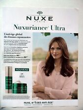 PUBLICITE-ADVERTISING :  NUXE Nuxuriance Ultra  2015 Cosmétique
