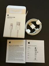 New Original Apple iPhone Lightning Cable 1m 3ft USB Charging Cord Authentic OEM
