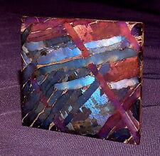 Selten!  Meteorit Pallasit Seymchan aufwändiges Ätzverfahren 44x39x2mm 26g 陨石
