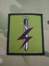 British Army SPECIAL FORCES SUPPORT GROUP (SFSG) Combat Jacket/Shirt Patch/Badge