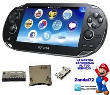 SONY PSVITA 1000 2000 SERVIZIO DI RIPARAZIONE SOCKET USB GAME CARD MEMORY CARD